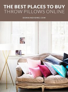 best places to buy pillows online