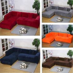 L Shaped Sectional Slipcovers