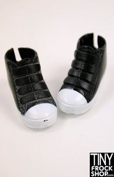 High tops are cool for sport or play. Should fit all new and old Barbies