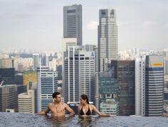 Marina Bay Sans Hotel in Singapore!