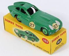 Dinky Toys 163 Bristol 450 Sports Coupe