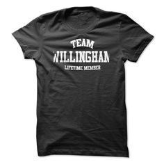 TEAM NAME WILLINGHAM LIFETIME MEMBER Personalized Name T-Shirt
