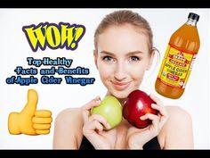 Health Benefits of Apple Cider Vinegar - 25 Top Facts of Apple Cider Vinegar
