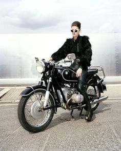 iron, leather, fur.......