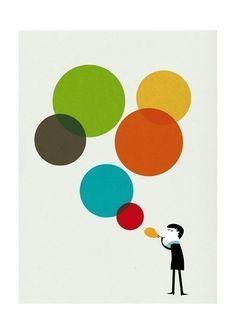 Monsieur IV print by blancucha on Etsy, $30.00