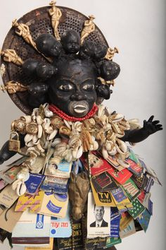 Join vanessa german on Patreon for exclusive content and patron-only benefits from your favorite creators. Dolls Dolls, Art Dolls, Political Art, Orisha, June 22, Assemblages, Assemblage Art, Paper Clay, Outsider Art