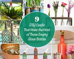 Beautiful ideas to make the most of those leftover containers
