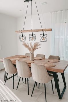 Dining Room Design, Dining Room Furniture, Dream Home Design, House Design, Room Inspiration, Decor Styles, Sweet Home, New Homes, Room Decor