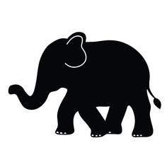 Lot 26 Studio Elephant Chalkboard Wall Decal ($20) ❤ liked on Polyvore featuring home, home decor, fillers, backgrounds, elephant and elephant home decor