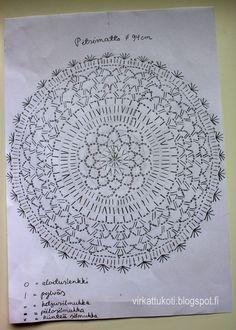 Issuu is a digital publishing Crochet Doily Rug, Crochet Carpet, Crochet Rug Patterns, Crochet Potholders, Crochet Circles, Crochet Snowflakes, Crochet Squares, Crochet Stitches, Rag Rug Tutorial