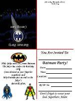 da7a9e9876edba84e94846decdc2e462 free printable birthday invitations batman invitations envelope, batman, invitations free printable ideas from family,Batman Invitations Free