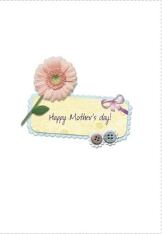 Free Printable Happy Mothers Day Greeting Card