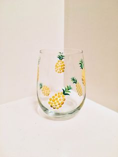 Your place to buy and sell all things handmade Painting Glass Jars, Painted Glass Bottles, Glass Painting Designs, Bottle Painting, Bottle Art, Decorated Bottles, Wine Glass Crafts, Wine Bottle Crafts, Jar Crafts