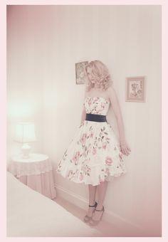 Rowan Joy tea length wedding dress