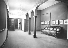 The original lobby of Thalian Hall as it looked in 1972