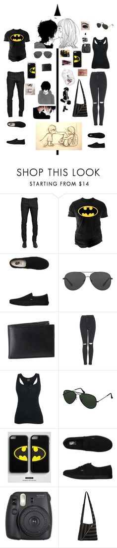 """Emo couple"" by music-rules-1817 ❤ liked on Polyvore featuring Dsquared2, Changes, Vans, Michael Kors, BLACK BROWN 1826, GET LOST, Topshop, Too Faced Cosmetics and Ray-Ban"