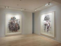 Jenny Saville: Continuum, 980 Madison Avenue, New York, September 2011 Jenny Saville, Gagosian Gallery, Madison Avenue, Mark Making, Contemporary Artists, Design Elements, Image, Art Ideas, Paintings