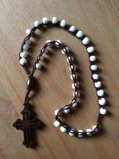 Crocheted Jesus Prayer Jesus Prayer, Rosaries, Religion, Crochet Patterns, Beads, Bracelets, Jewelry, Projects, O Beads