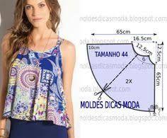 Resultado de imagen para patrones de blusa facil