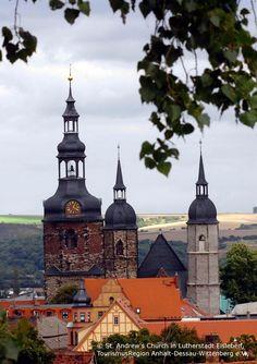 St. Andrews Church in Eisleben Irgendwo ein Kloster? Kloster Sankt Marien zu Helfta
