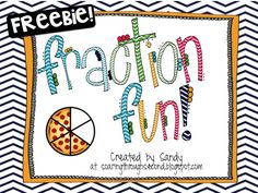 Identifying simple fractions: Freebie! Also comes with self-checking QR codes! Soaring Through Second Grade