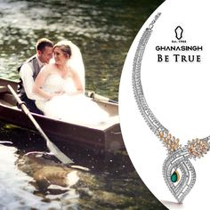 The romance of backwaters is always a good backdrop for any occasion—weddings included.What makes it even more exotic is the glam factor of these striking show-stoppers handpicked from our 'Be True' Jewellery Salon for your BIG day!