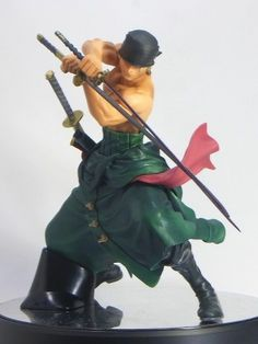 One Piece Figure Colosseum Scultures Roronoa Zoro Big Special PVC Figure