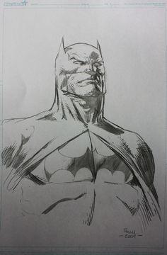 Batman David Finch Comic Art