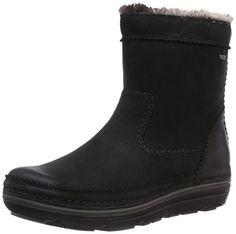 Clarks Womens Casual Clarks Nelia Dora Gtx Leather Boots In Black Black Black Size: 3 UK Clarks http://www.amazon.co.uk/dp/B00ITI8BZQ/ref=cm_sw_r_pi_dp_9QgPub1RB86VY