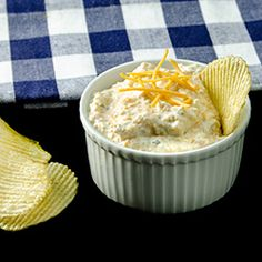 Artichoke Dip with Cheddar Cheese.     This looks suspiciously similar to a really good dip we always get at Wegman's...