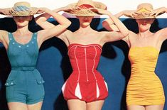 moda vintage picture on VisualizeUs on imgfave Vogue Vintage, Moda Vintage, Retro Vintage, Vintage Style, Vintage Inspired, Vintage Nautical, Vintage Vibes, Vintage Ladies, Vintage Bathing Suits