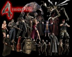 Resident Evil 4 Chatacters