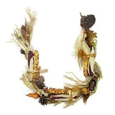 Northlight 5-Ft Autumn Corn And Harvest Gourd Thanksgiving Garland Atg
