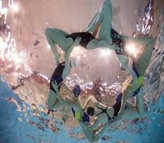 London-based aquatic dance group can be booked for corporate functions. Underwater Model, Synchronized Swimming, Swim Team, Swimmers, Under The Sea, Corporate Events, Product Launch, Ocean, Entertainment