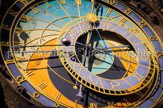 Prague Clock Photo Fine Art photography by PatrickRabbatPhotos
