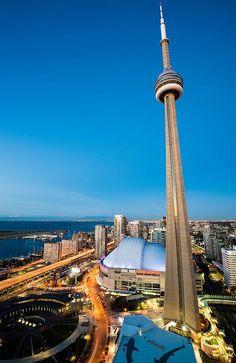 CN Tower stretching, Toronto, ON, Urban Toronto Art Toronto, Toronto Canada, Toronto Architecture, November 8, Cn Tower, Ontario, Zodiac, Coast, Around The Worlds