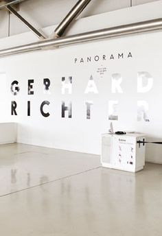 Panorama Gerard Richter/ Les Graphiquants