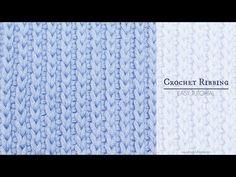 Hopeful Honey | Craft, Crochet, Create: How To: Crochet A Ribbing - Easy Tutorial