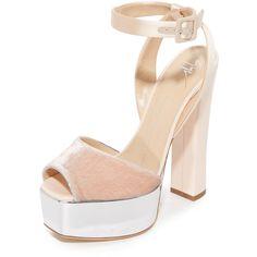 Giuseppe Zanotti Platform Sandals (22.800 UYU) ❤ liked on Polyvore featuring shoes, sandals, platform sandals, giuseppe zanotti shoes, giuseppe zanotti, giuseppe zanotti sandals and platform shoes