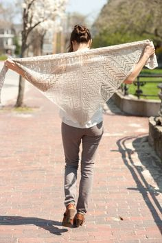 Quince & Co's new shawl pattern!