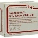 LOPHAKOMP B12 Depot 1000µg (mcg) Injektionslösung:   Packungsinhalt: 10X2 ml Injektionslösung PZN: 04777955 Hersteller: Köhler Pharma…