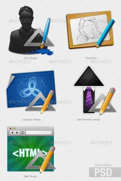 Services — Photoshop PSD #ui #style • Available here → https://graphicriver.net/item/services-/480630?ref=pxcr