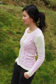 Návod na dámský pletený svetr Pullover, Sweaters, Cloths, Tutorials, Women, Fashion, Drop Cloths, Moda, Fashion Styles