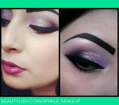 using all Urban Decay on eyes, and NYX on lips | Ariel L.'s (sprkle_makeup) Photo | Beautylish