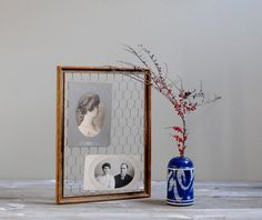 Upcycled Display Board by LittleDogVintage on Etsy, $25.00