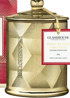 Glasshouse 2017 Night Before Christmas Deluxe Candle