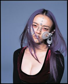 """RILA FUKUSHIMA by NOBUYOSHI ARAKI Read the interview with Rila in the winter issue of Dazed, out now. Photography #NobuyoshiAraki, fashion…"""