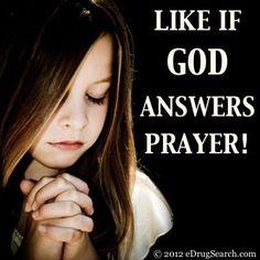 God answers prays