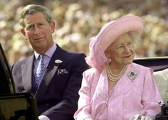 LONDON, UNITED KINGDOM - JULY 19: Britain's Queen Elizabeth, the Queen Mother, arrives 19 July 2000, with her grandson, the Prince of Wales, Prince Charles (L), for a pageant on London's Horse Guards Parade to mark her 100th birthday, which is on August 4. Some 1,000 people, animals and aircraft are taking part reflecting all parts of Britain's national life.(Photo credit: FIONA HANSON/AFP/Getty Images) via @AOL_Lifestyle Read more…