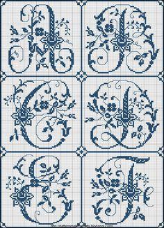 Free Cross Stitch Charts   Free Historic Old Pattern Books: Sajou No 324 (Paris)